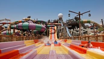 Yas Waterworld Project in Abu Dhabi, UAE