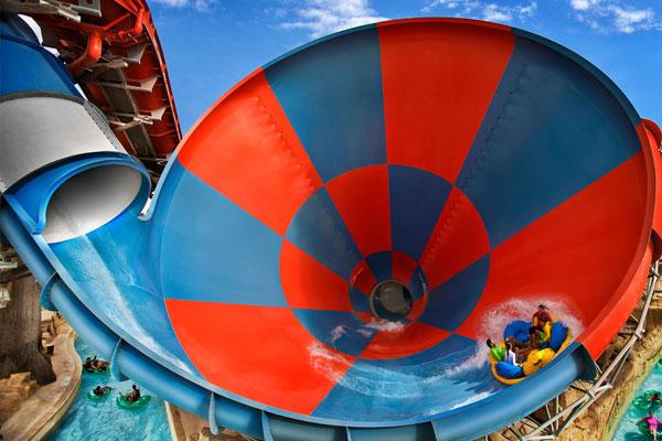 Yas Waterworld Project in Abu Dhabi, UAE
